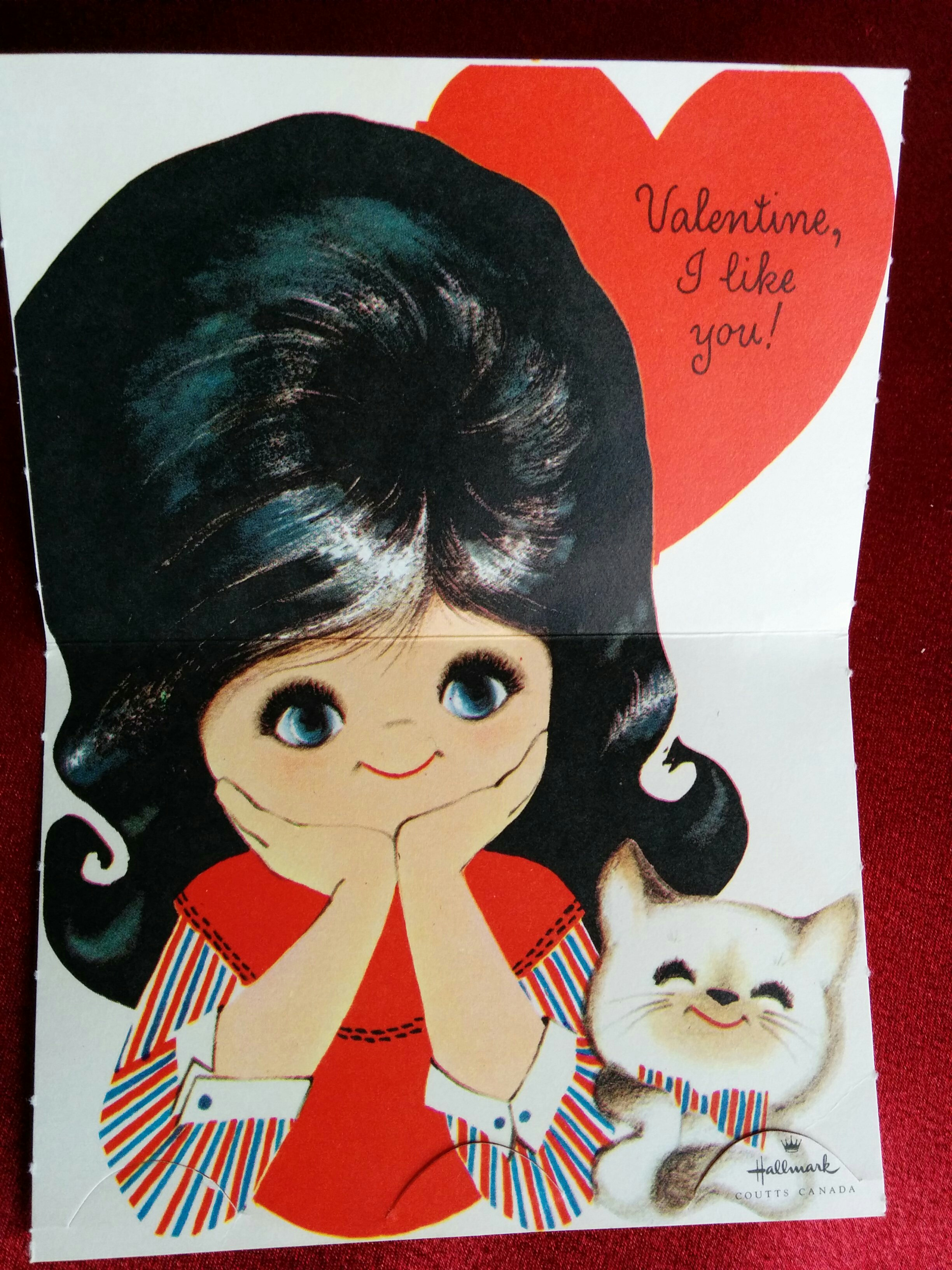 Vintage Valentine from my childhood