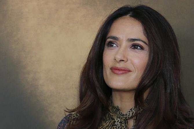 Salma Hayek | PHOTO: REUTERS/REGIS DUVIGNAU