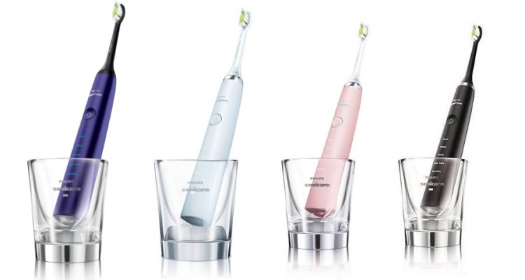 Philips | Sonicare Diamond Clean | Amethyst, White, Pink, Black