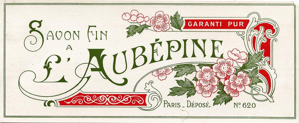 Vintage French Soap Label   Image via The Graphics Fairy