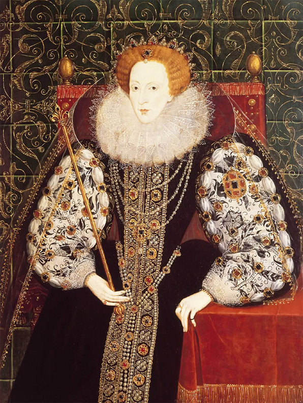 Queen Elizabeth b by Unknown, c. 1570.