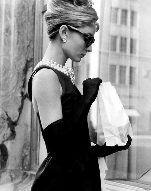 Audrey Hepburn; Breakfast At Tiffany's, 1961