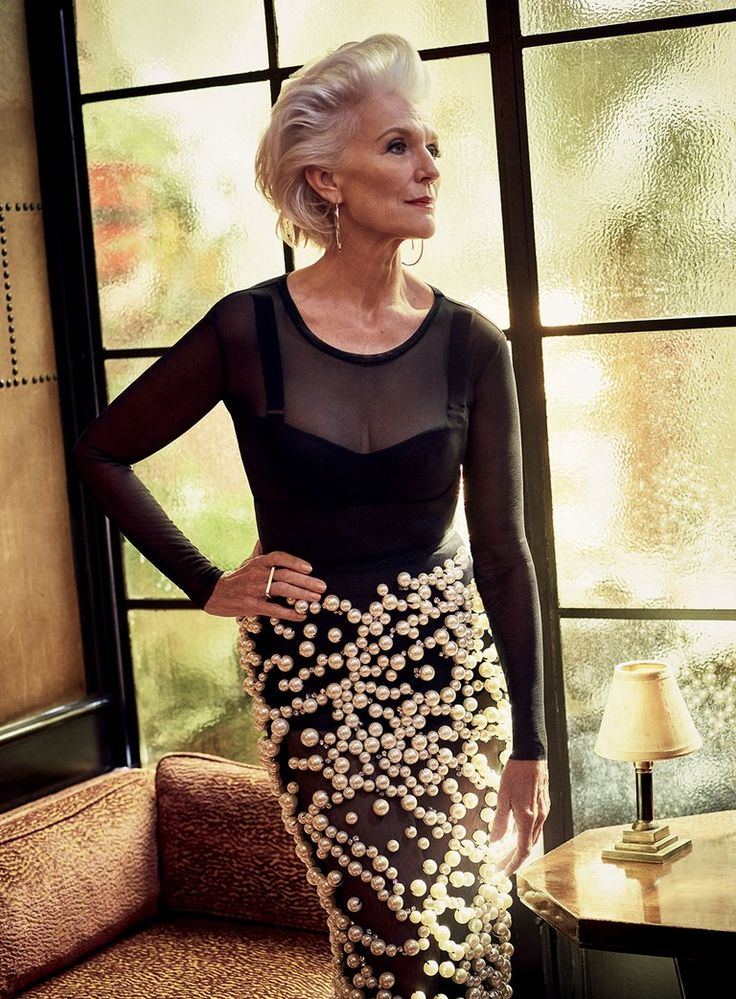 Bodysuit and bra by Max Mara; skirt by Vera Wang; earrings by Jennifer Fisher; ring by Ginette NY. Photo: Mark Seliger