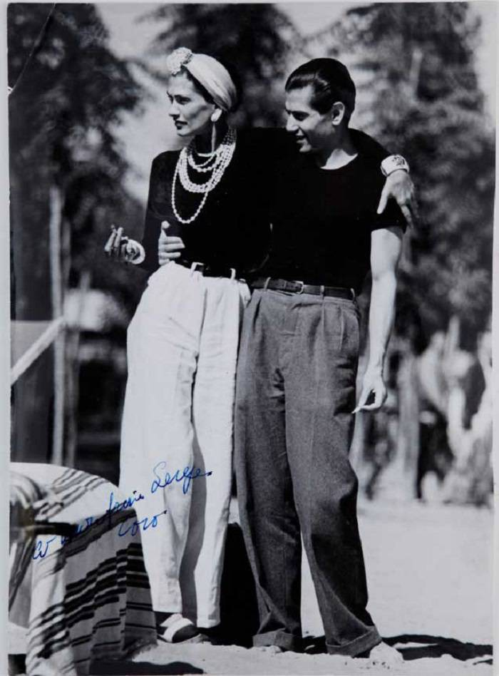 Coco Chanel and Serge Lifar